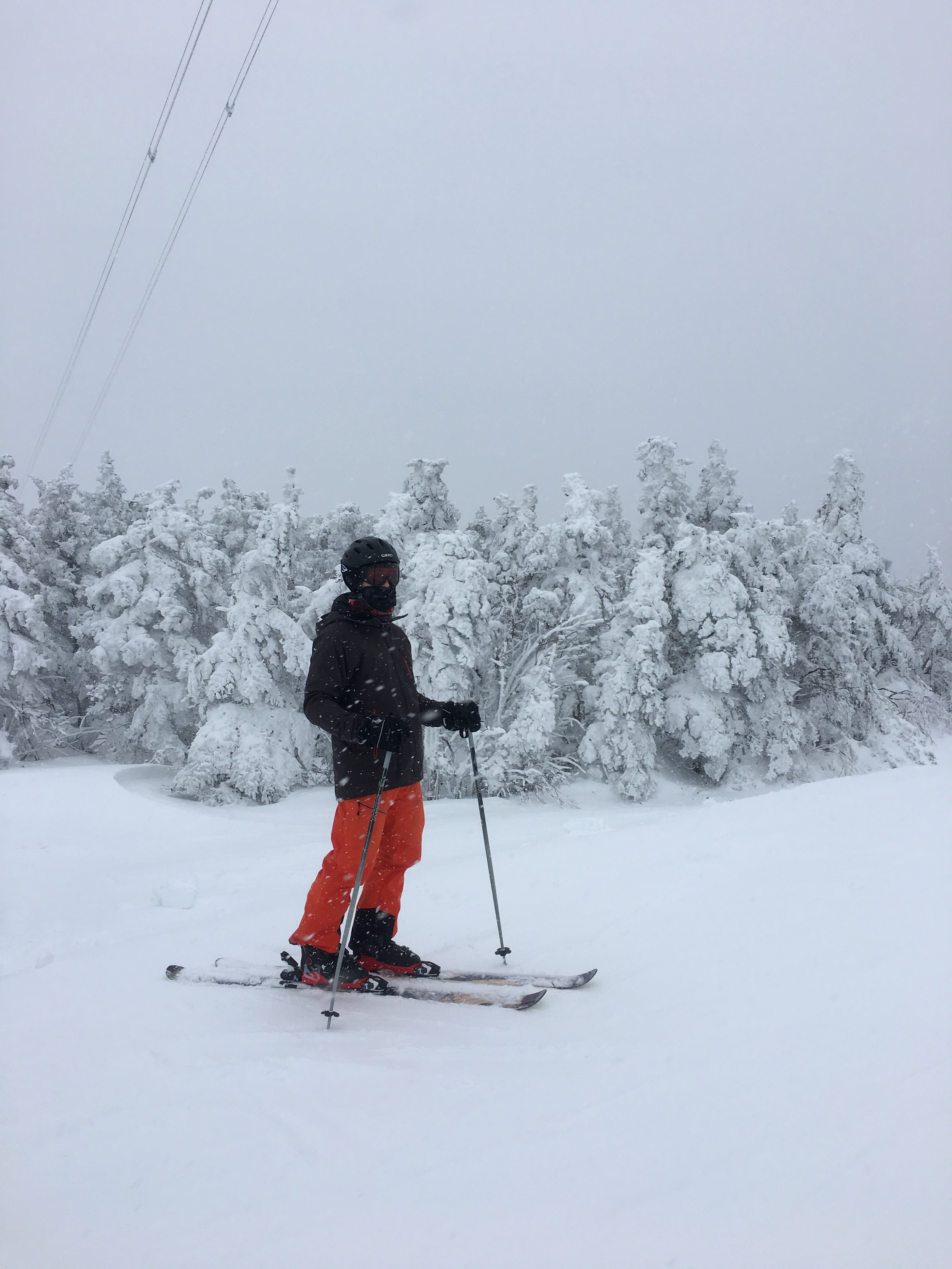 Devin Skiing